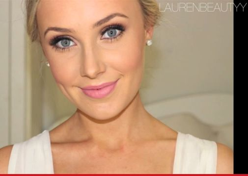 Natural wedding makeup Blonde Hair Blue Eyes ...